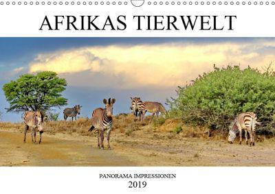 AFRIKAS TIERWELT Panorama Impressionen (Wandkalender 2019 DIN A3 quer), N N