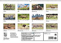 AFRIKAS TIERWELT Panorama Impressionen (Wandkalender 2019 DIN A3 quer) - Produktdetailbild 13