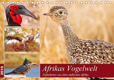Afrikas Vogelwelt 2019 (Tischkalender 2019 DIN A5 quer), Wibke Woyke