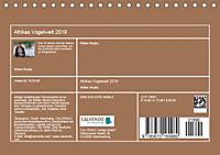 Afrikas Vogelwelt 2019 (Tischkalender 2019 DIN A5 quer) - Produktdetailbild 13