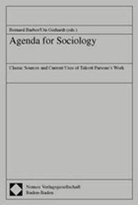 Agenda for Sociology