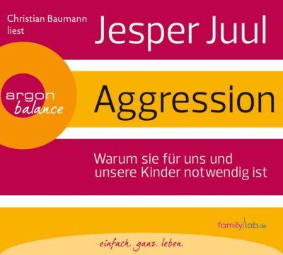 Aggression, 4 Audio-CDs, Jesper Juul