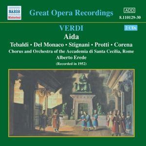 Aida, Erede, Tebaldi, Del Monaco