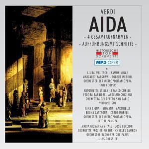 Aida (Ga)-Mp3 (4 Ga), Chor & Orch.Der Metropolitan Opera