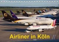 Airliner in Köln (Tischkalender 2019 DIN A5 quer), Rainer Spoddig