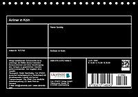 Airliner in Köln (Tischkalender 2019 DIN A5 quer) - Produktdetailbild 13