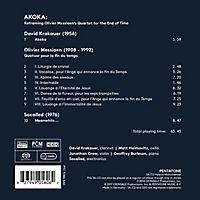Akoka: Reframing Messiaens Quartet... - Produktdetailbild 1