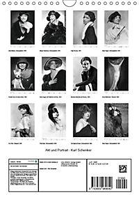 Akt und Portrait - Karl Schenker (Wandkalender 2019 DIN A4 hoch) - Produktdetailbild 13