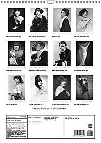Akt und Portrait - Karl Schenker (Wandkalender 2019 DIN A3 hoch) - Produktdetailbild 13