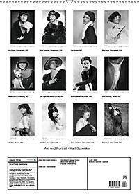 Akt und Portrait - Karl Schenker (Wandkalender 2019 DIN A2 hoch) - Produktdetailbild 13