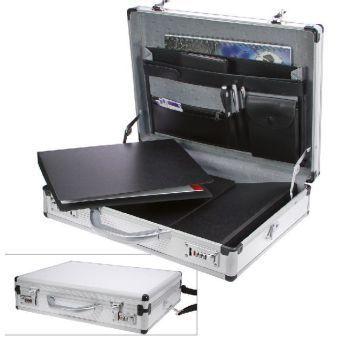 Akten- und Laptopkoffer Aluminium