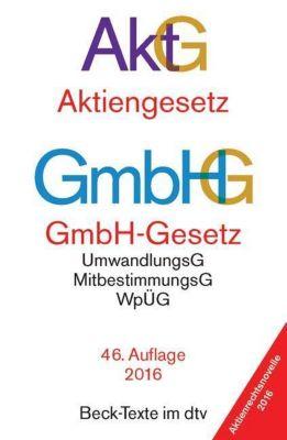 Aktiengesetz (AktG), GmbH-Gesetz (GmbHG)