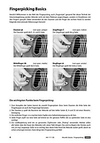 Akustik-Gitarre Fingerpicking - Schnell und einfach lernen, m. DVD - Produktdetailbild 1