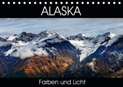 Alaska - Farben und Licht (Tischkalender 2019 DIN A5 quer), Thomas Gerber