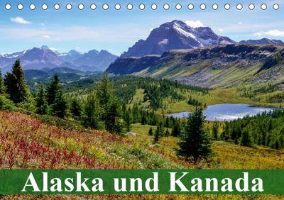 Alaska und Kanada (Tischkalender 2019 DIN A5 quer), Elisabeth Stanzer