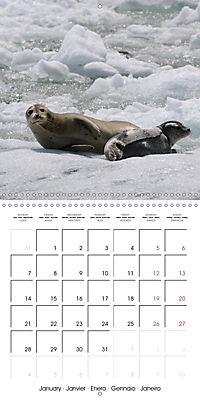 Alaskan Wildlife (Wall Calendar 2019 300 × 300 mm Square) - Produktdetailbild 1
