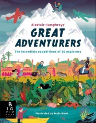 Alastair Humphrey's Great Adventurers, Alastair Humphreys