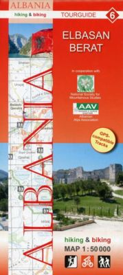 Albania hiking & biking 1:50000, 9 Teile, Huber Kartographie GmbH