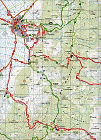 Albania hiking & biking 1:50000, 9 Teile - Produktdetailbild 1