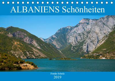 ALBANIENS Schönheiten (Tischkalender 2019 DIN A5 quer), Frauke Scholz