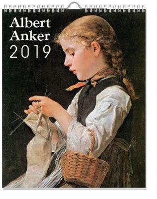Albert Anker Kalender 2019