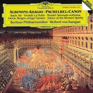 Albinoni: Adagio in G minor / Pachelbel: Canon, Herbert von Karajan, Bp