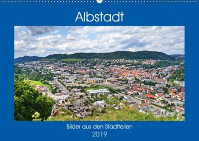 Albstadt - Bilder der Stadtteile (Wandkalender 2019 DIN A2 quer), Günther Geiger