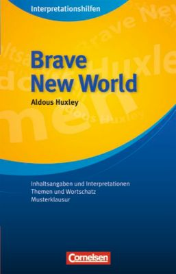 Aldous Huxley 'Brave New World', Aldous Huxley