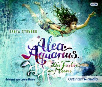 Alea Aquarius - Die Farben des Meeres, 4 Audio-CDs, Tanya Stewner