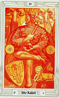 Aleister Crowley Thoth Tarot, Tarotkarten, Pocketausgabe - Produktdetailbild 1