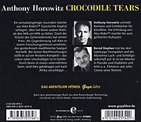 Alex Rider Band 8: Crocodile Tears (3 Audio-CDs) - Produktdetailbild 1
