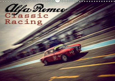 Alfa Romeo Classic Racing (Wandkalender 2019 DIN A3 quer), Johann Hinrichs