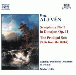 Alfvén: Sinfonie Nr. 2 op.11 D-dur / Der verlorene Sohn (Ballettsuite), Niklas Willen, Nso Ireland