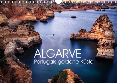 Algarve - Portugals goldene Küste (Wandkalender 2019 DIN A4 quer), Val Thoermer