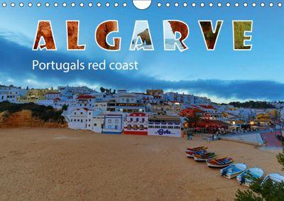 ALGARVE Portugals red coast (Wall Calendar 2019 DIN A4 Landscape), Thomas Herzog