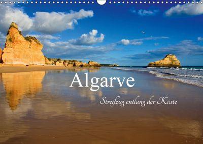 Algarve - Streifzug entlang der Küste (Wandkalender 2019 DIN A3 quer), Carina-Fotografie