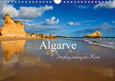 Algarve - Streifzug entlang der Küste (Wandkalender 2019 DIN A4 quer), Carina-Fotografie