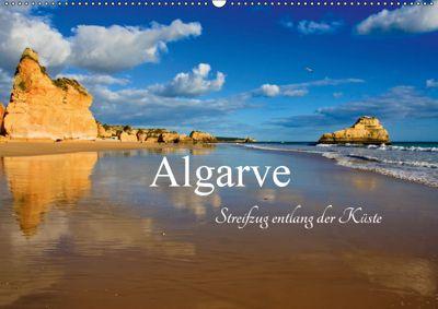 Algarve - Streifzug entlang der Küste (Wandkalender 2019 DIN A2 quer), Carina-Fotografie