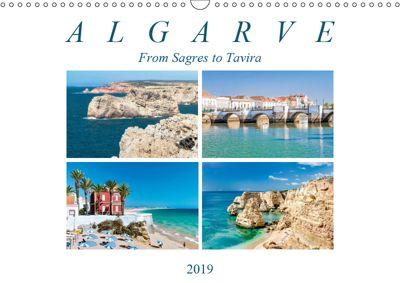 Algarve (Wall Calendar 2019 DIN A3 Landscape), Dieter Meyer