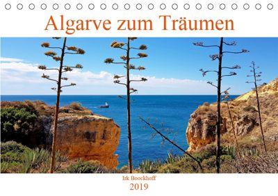Algarve zum Träumen (Tischkalender 2019 DIN A5 quer), Irk Boockhoff