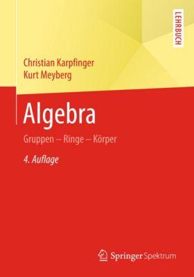 Algebra, Kurt Meyberg, Christian Karpfinger