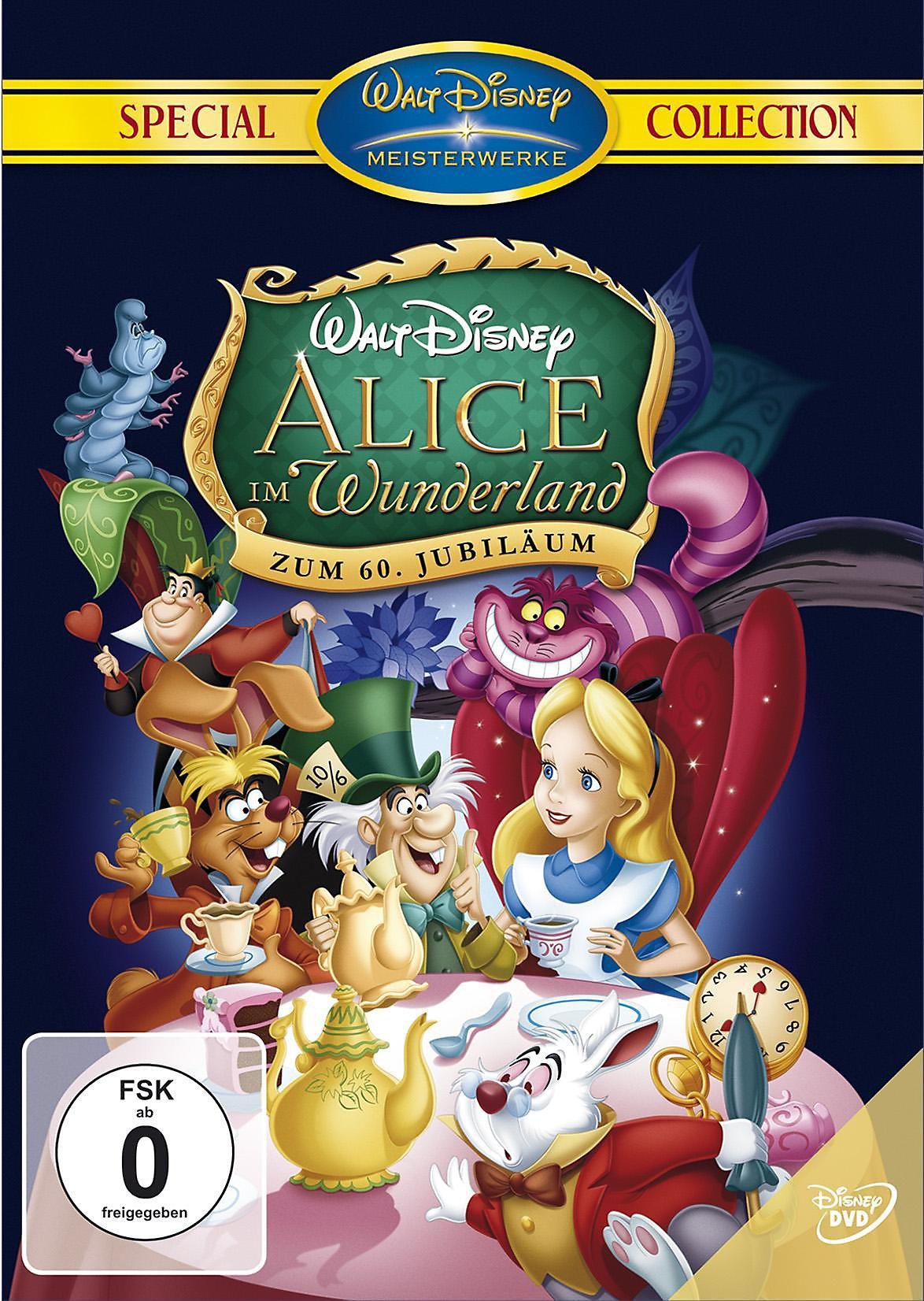 Alice Im Wunderland Dvd Jetzt Bei Weltbild Ch Online Bestellen