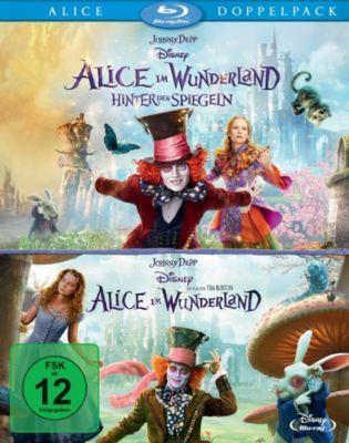 Alice im Wunderland + Alice im Wunderland 2: Hinter den Spiegeln