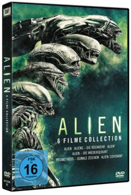 Alien 1 - 6 Collection, Jon Spaihts, Damon Lindelof, Dan Obannon, Ronald Shusett, Walter Hill, James Cameron, David Giler, Larry Ferguson, Vincent Ward