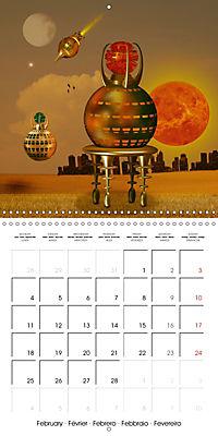 Alien World (Wall Calendar 2019 300 × 300 mm Square) - Produktdetailbild 2