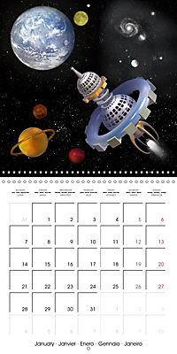 Alien World (Wall Calendar 2019 300 × 300 mm Square) - Produktdetailbild 1