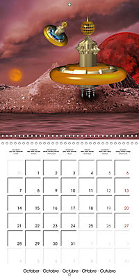 Alien World (Wall Calendar 2019 300 × 300 mm Square) - Produktdetailbild 10