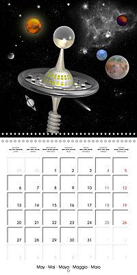 Alien World (Wall Calendar 2019 300 × 300 mm Square) - Produktdetailbild 5