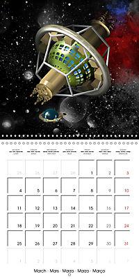 Alien World (Wall Calendar 2019 300 × 300 mm Square) - Produktdetailbild 3
