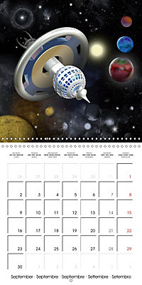 Alien World (Wall Calendar 2019 300 × 300 mm Square) - Produktdetailbild 9